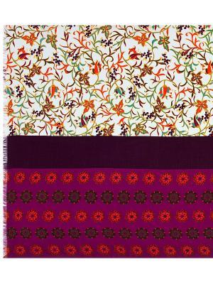 Платок Eleganzza. Цвет: темно-коричневый, оранжевый, фуксия