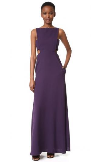 Вечернее платье с вырезами Jill Stuart. Цвет: бузина