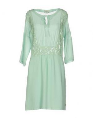 Короткое платье BROOKSFIELD. Цвет: светло-зеленый