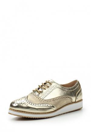 Ботинки Guapissima. Цвет: золотой