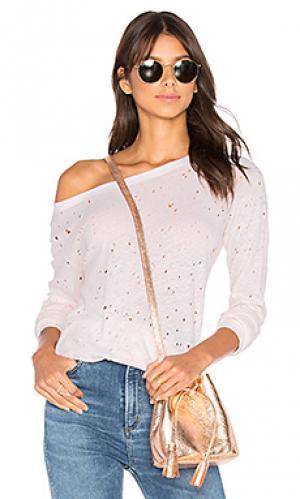 Textured sweatshirt Michael Stars. Цвет: румянец