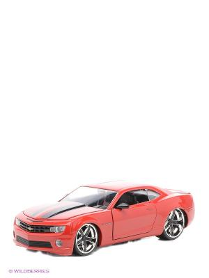 Машина 2010 Chevy Camaro- Wheel Ribon 5 9 Jada. Цвет: красный