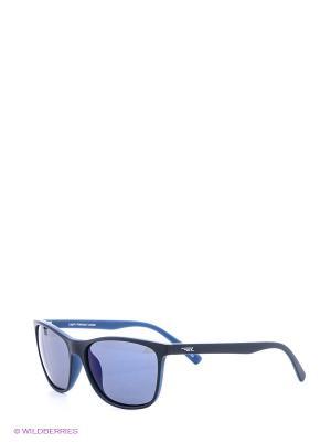 Солнцезащитные очки Legna. Цвет: синий