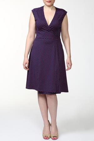 Платье MARCA-M. Цвет: фиолетовый