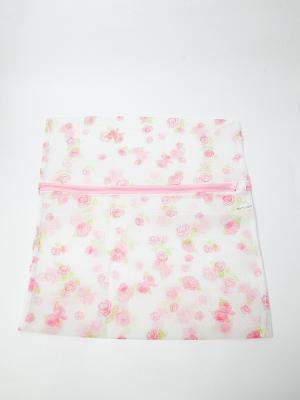 Мешок для стирки белья и носков на замке KONONO. Цвет: белый