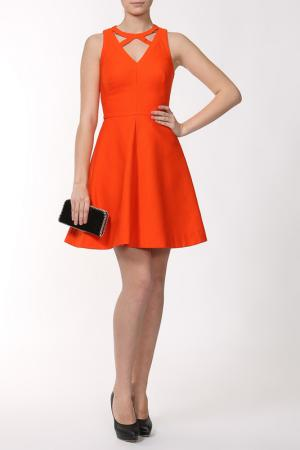 Платье Issa London. Цвет: оранжевый