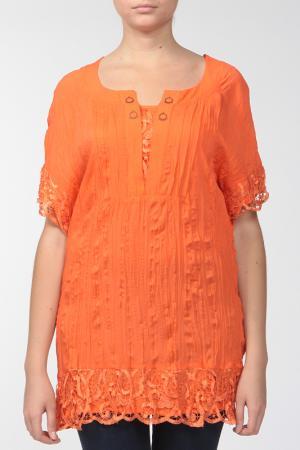 Туника KRATOS. Цвет: апельсиновый