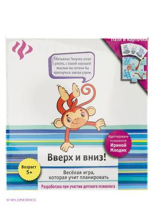 Вверх и вниз!: развивающая игра для детей Феникс-Премьер. Цвет: белый