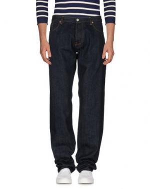 Джинсовые брюки RICHARD JAMES. Цвет: синий