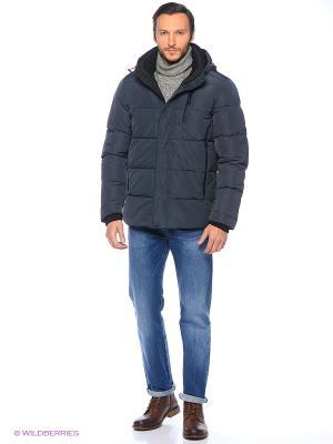 Куртка Snow Guard. Цвет: синий, черный