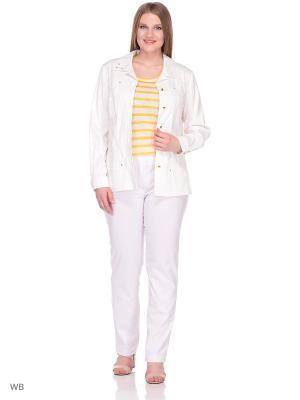 Куртка BERKLINE. Цвет: белый