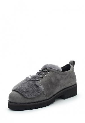 Ботинки Inario. Цвет: серый
