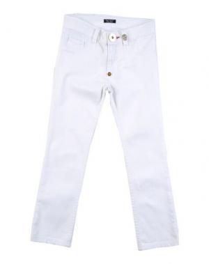 Джинсовые брюки PHILIPP PLEIN. Цвет: белый