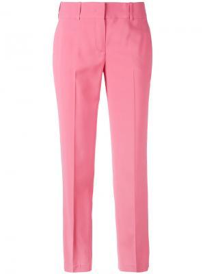 Укороченные брюки Ermanno Scervino. Цвет: розовый и фиолетовый