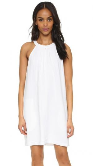 Платье Tristyn BCBGMAXAZRIA. Цвет: белый