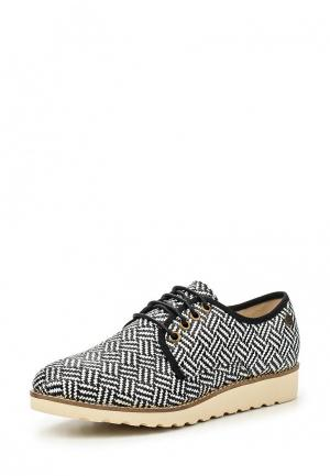 Ботинки Chika10. Цвет: черно-белый