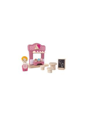 Ларек с мороженым PLAN TOYS. Цвет: розовый