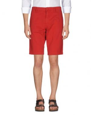 Бермуды MASON'S. Цвет: красный