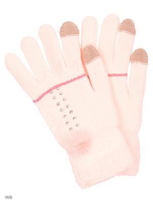 Сенсорные перчатки Punta. Цвет: розовый