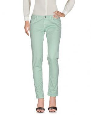 Повседневные брюки HOGAN. Цвет: светло-зеленый
