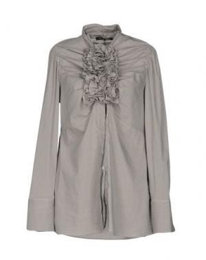 Pубашка WALTER VOULAZ. Цвет: серый