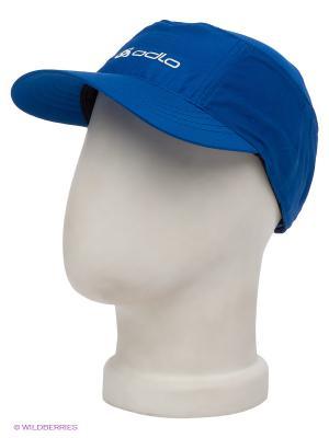 Кепка Odlo. Цвет: синий