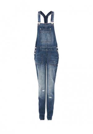 Комбинезон джинсовый s.Oliver. Цвет: синий