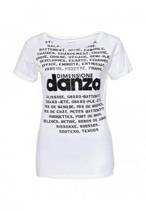 Футболка Dimensione Danza. Цвет: белый