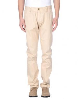 Повседневные брюки NEW ENGLAND. Цвет: бежевый