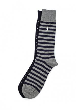 Комплект носков 2 пары Polo Ralph Lauren. Цвет: разноцветный