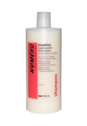 Профилактический шампунь против выпадения волос Brelil Professional. Цвет: белый