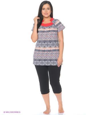 Комплект одежды Mojo Collection. Цвет: серый, красный, черный