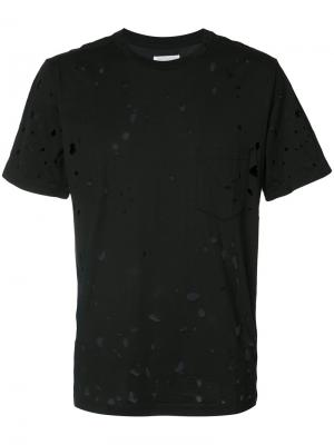 Distressed T-shirt The Soloist. Цвет: чёрный