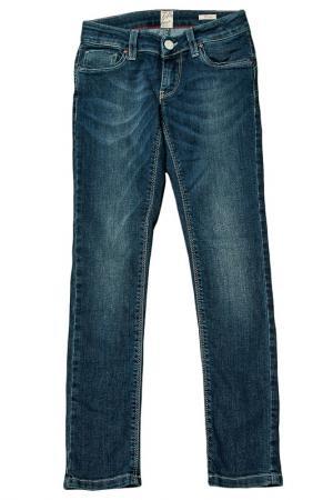 Джинсы Fifty Four. Цвет: синий, джинсовый