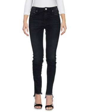 Джинсовые брюки DON'T CRY. Цвет: черный