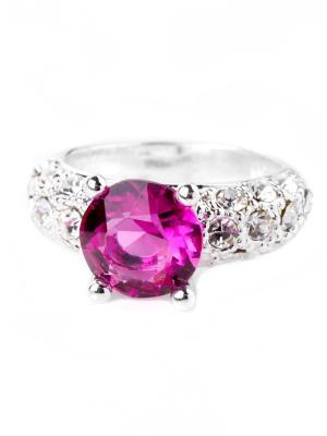 Кольцо Bijoux Land. Цвет: серебристый, розовый