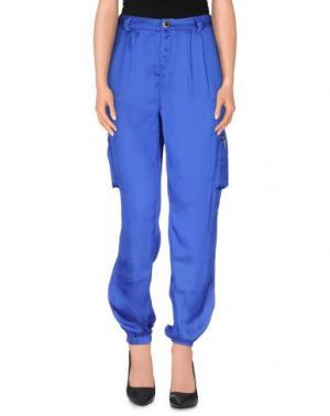 Повседневные брюки MORGAN DE TOI. Цвет: ярко-синий