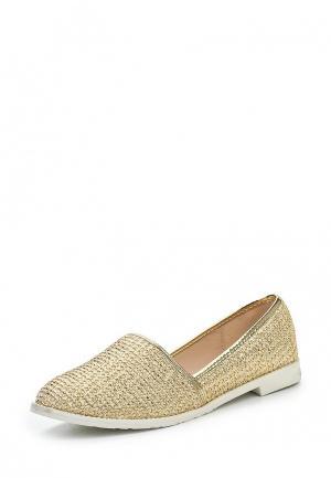 Туфли Style Shoes. Цвет: золотой