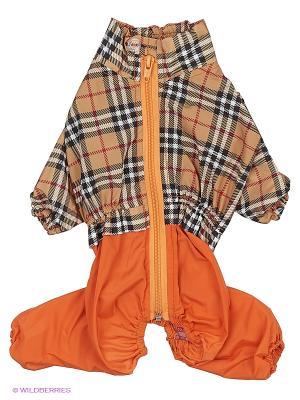 Дождевик холодный (Японский хин), девочка ТУЗИК. Цвет: оранжевый