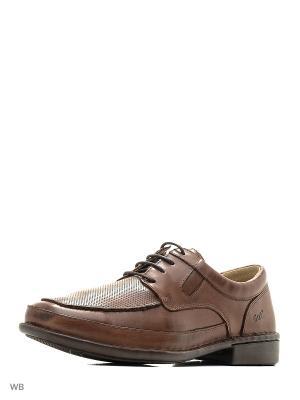 Туфли GUT. Цвет: коричневый