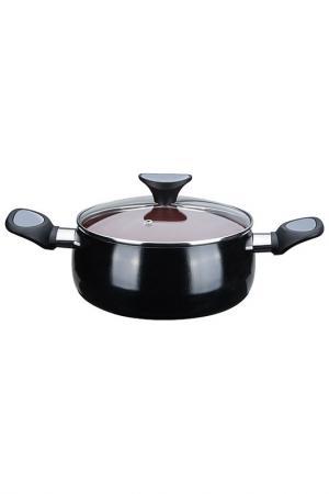 Кастрюля с крышкой 24 cм 5,3 л Granchio. Цвет: коричневый