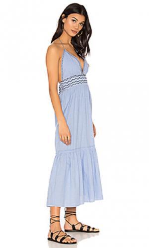 Платье kat SAYLOR. Цвет: синий