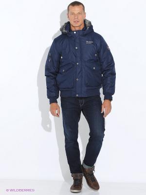 Куртка E-Bound by Earth Bound. Цвет: синий