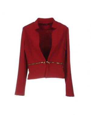 Пиджак B.YU. Цвет: красно-коричневый
