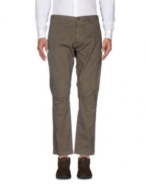 Повседневные брюки INDIVIDUAL. Цвет: хаки
