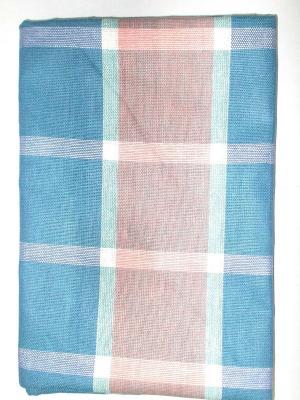 Полотенце лен/хлопок, набор 2 шт. 50*70см Letto. Цвет: синий
