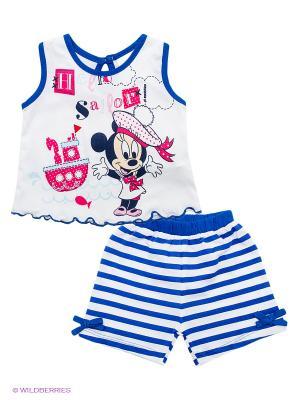 Комплект Disney. Цвет: синий, белый