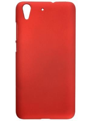 Накладка для Huawei Y6 II skinBOX. Серия 4People. Защитная пленка в комплекте. skinBOX. Цвет: красный