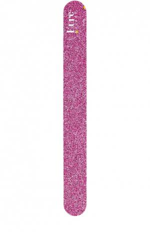 Пилка для ногтей светло-розовая Kure Bazaar. Цвет: бесцветный