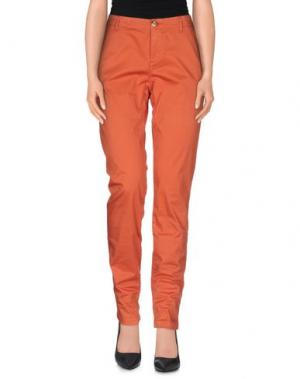 Повседневные брюки NICE THINGS BY PALOMA S.. Цвет: ржаво-коричневый